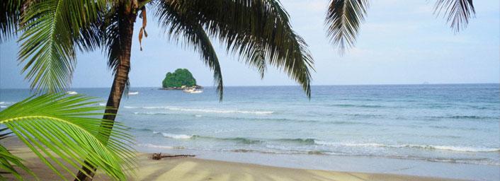 Beach of Tioman Island in Malaysia